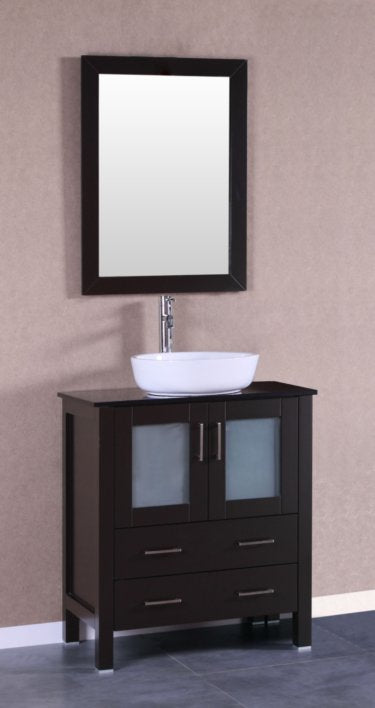 "30"" Bosconi AB130BWLBG Single Vanity"