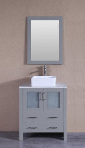 "Image of 30"" Bosconi AGR130CBECM Single Vanity"