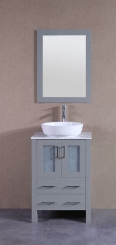 "24"" Bosconi AGR124BWLCM Single Vanity"