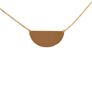 HALF FULL VESSEL NECKLACE