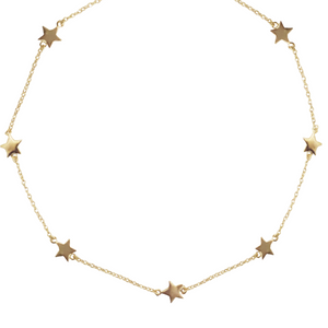 STRING OF STARS NECKLACE