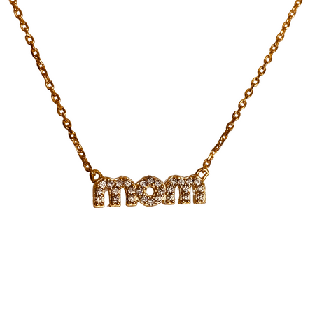 MOM REVERSIBLE NAMEPLATE NECKLACE