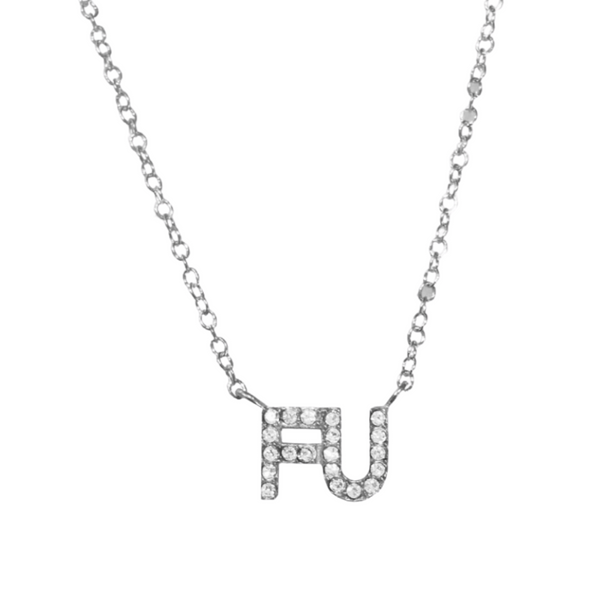 FU INITIAL NECKLACE