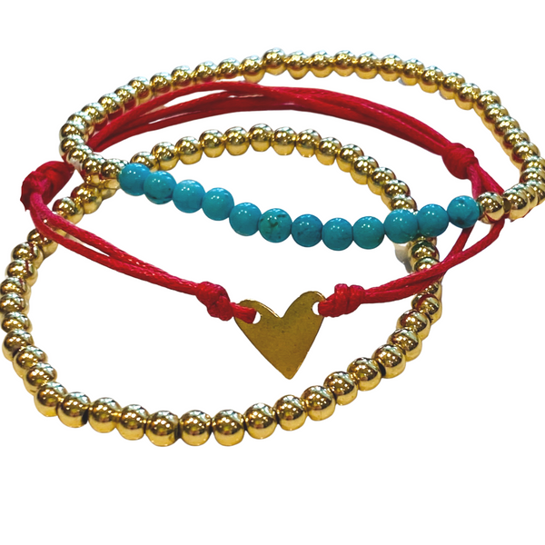 NOEL STRETCH BRACELET STACK