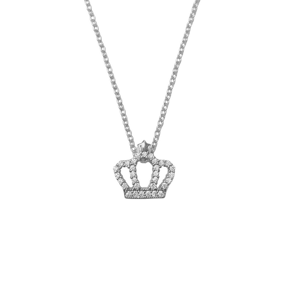 TIARA PAVE NECKLACE