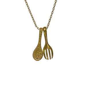 FORK AND SPOON NECKLACE