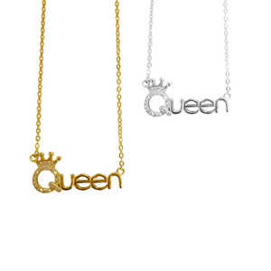 QUEEN'S CROWN  NECKLACE