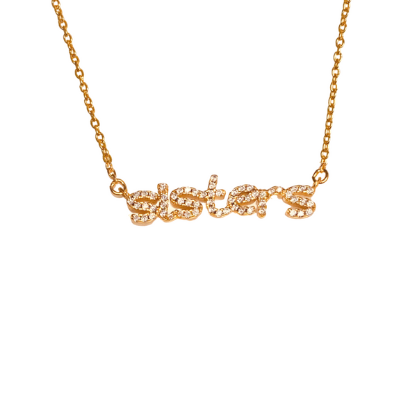 SISTERS PAVE NECKLACE