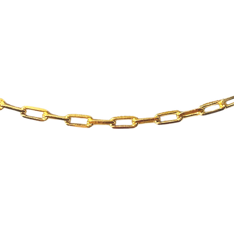 MIDI LINK CHAIN NECKLACE