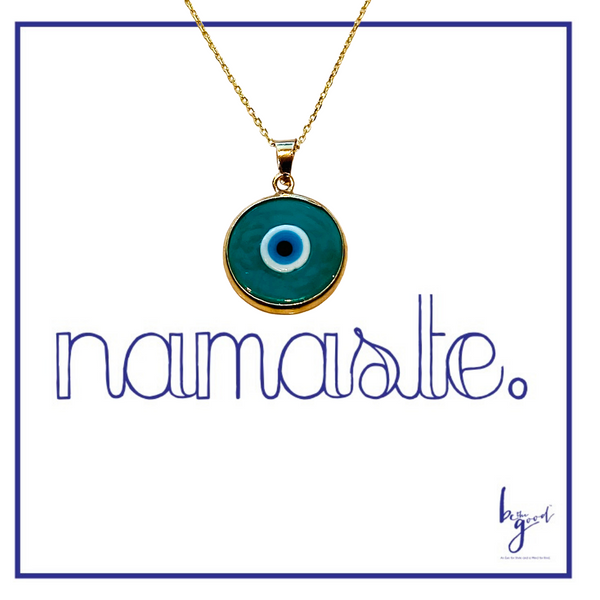 GLASS THIRD EYE NECKLACE