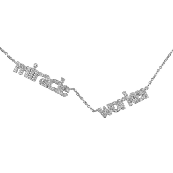 MIRACLE WORKER PAVE NECKLACE