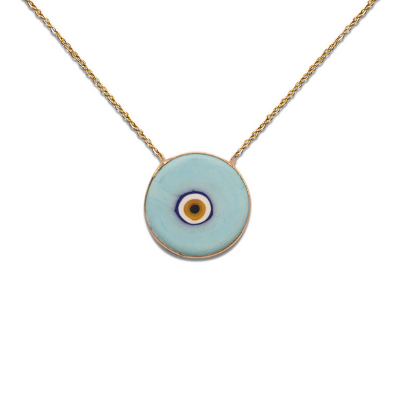 TRUTH THIRD EYE PORCELAIN NECKLACE