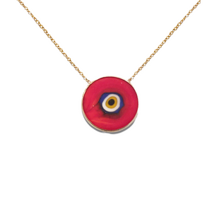 THIRD EYE OF COURAGE NECKLACE