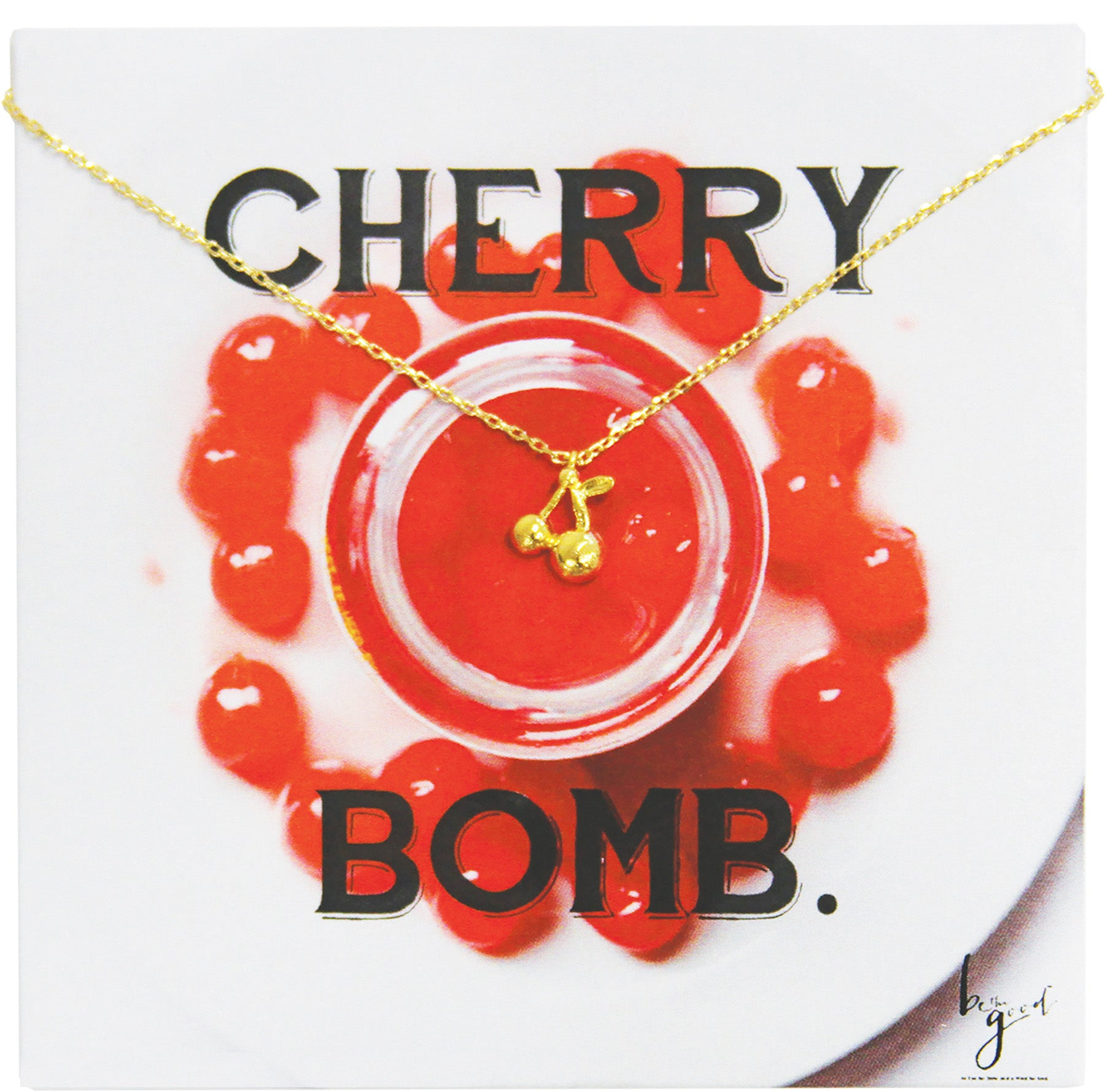 CHERRY BOMB NECKLACE