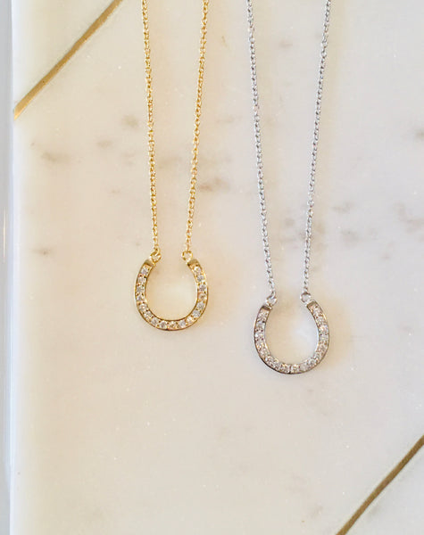 Classic Horseshoe Necklace