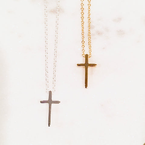 HAVE FAITH CLASSIC CROSS NECKLACE