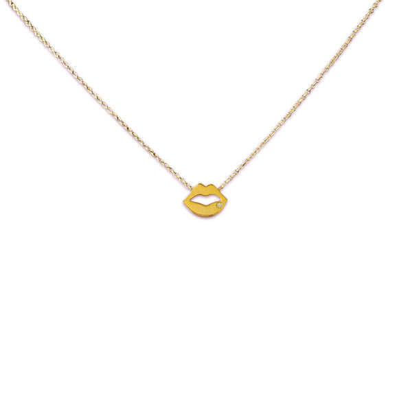 SWEET LIPS NECKLACE