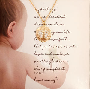 TINY FOOTPRINTS NECKLACE