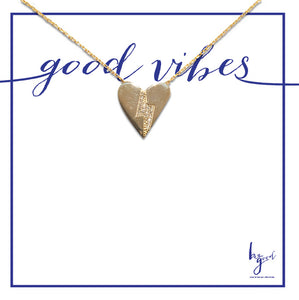 LOVE GOOD VIBES NECKLACE