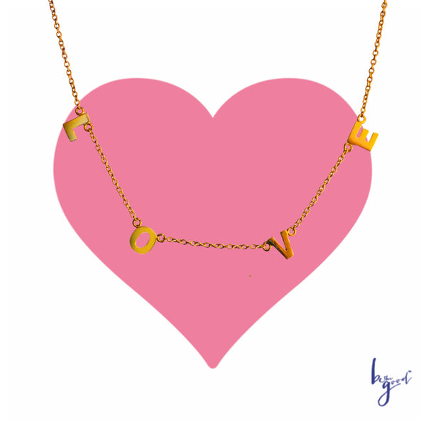 L O V E LETTERS NECKLACE
