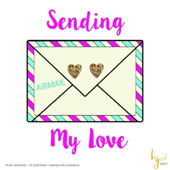 SENDING MY LOVE EARRINGS