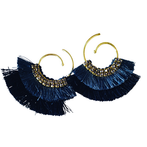 SHADES OF MIDNIGHT DUSTER EARRING