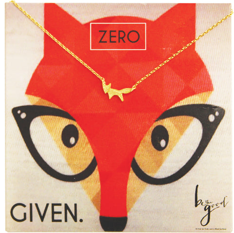ZERO FOX ICON CHARM NECKLACE