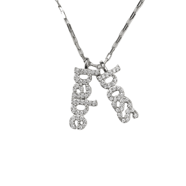 BOSS BABE CHARMS NECKLACE