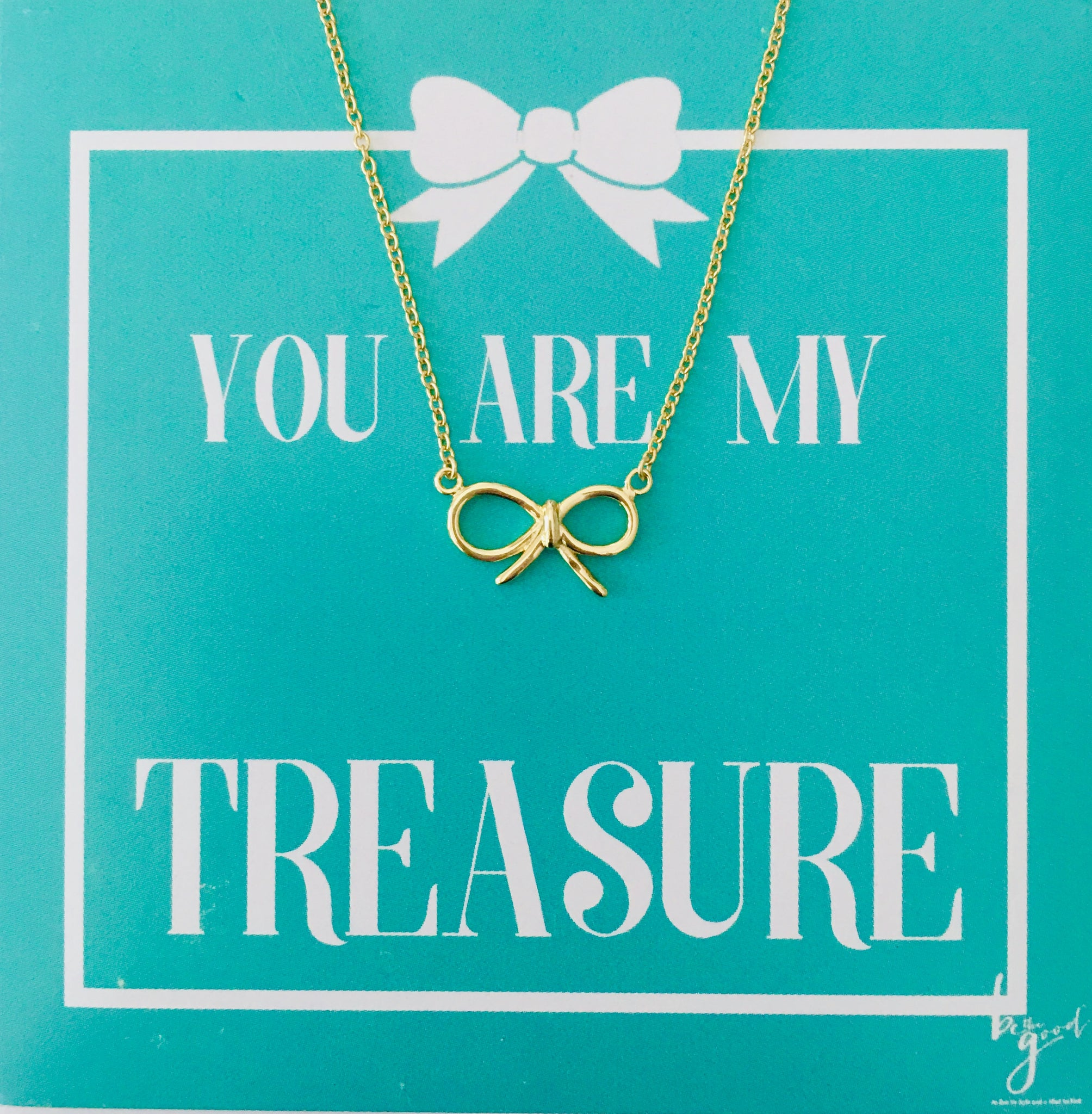 CLASSIC BOW NECKLACE