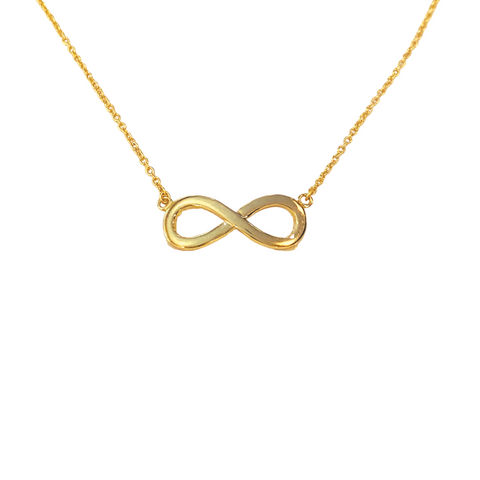 INFINITY CHARM NECKLACE