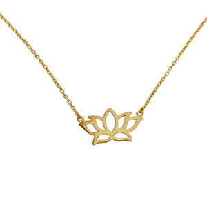 NAMASTE LOTUS NECKLACE