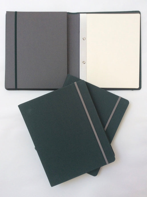 B5 binder in dark green - SALE PRICE PLUS FREE SHIPPING!