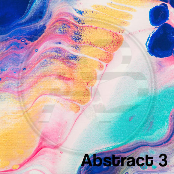 Adhesive Patterned Vinyl - Abstract 3
