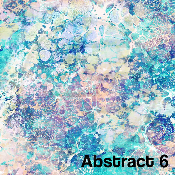 Adhesive Patterned Vinyl - Abstract 6
