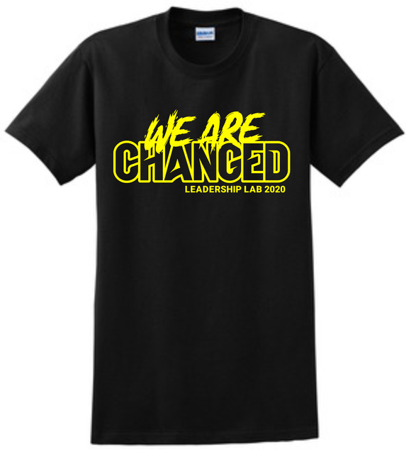 We are Changed Black/Yellow Theme Shirt
