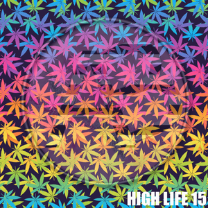 Adhesive Patterned Vinyl - High Life 15