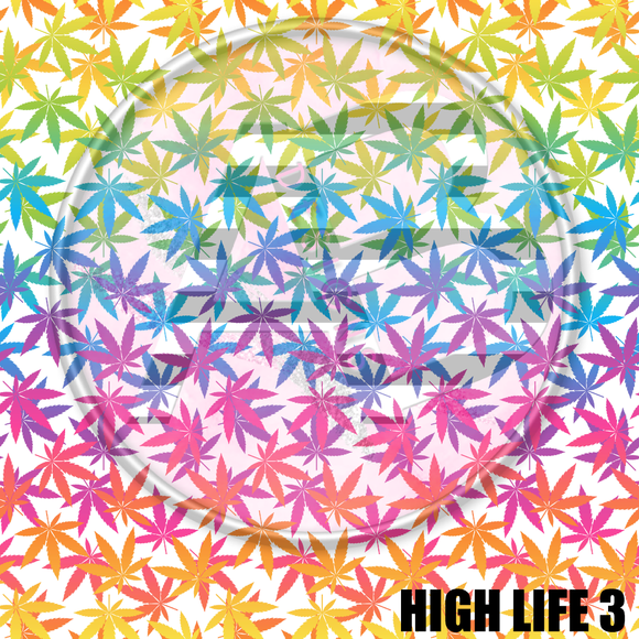Adhesive Patterned Vinyl - High Life 3