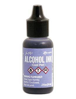 Cool Peri Alcohol Ink / Ranger / Tim Holtz