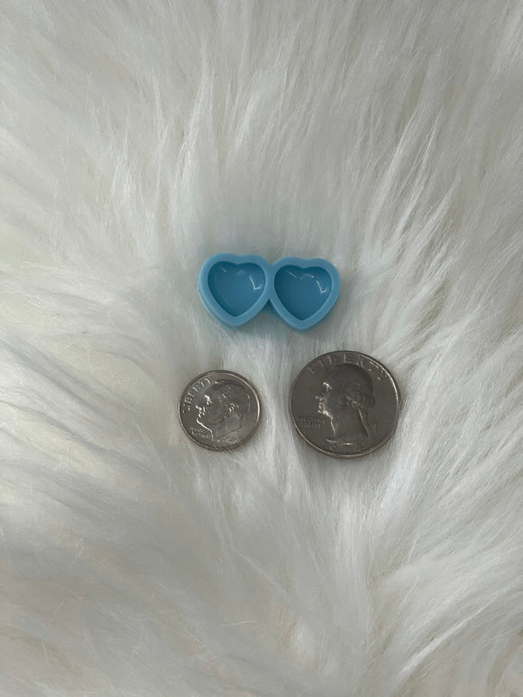 Heart Silicone Earring Mold
