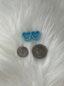 Mouse Ears Silicone Earring Mold