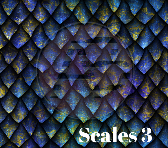 Adhesive Patterned Vinyl - Scales 3