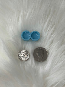 Circle Silicone Earring Mold