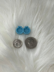 Apple Silicone Earring Mold