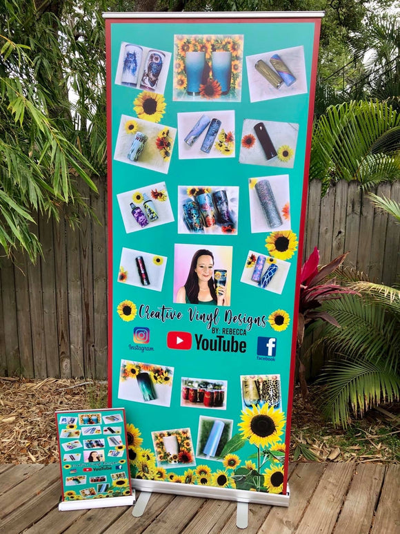 Roll Up Sign Banner