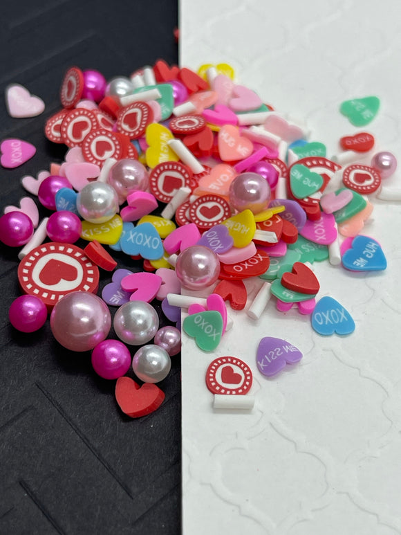 Hearts ♥️ and Pearls Sprinkles