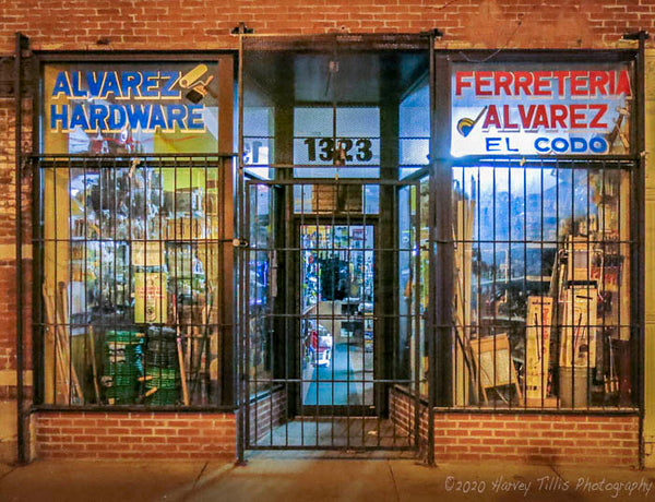 Alvarez Hardware At Night