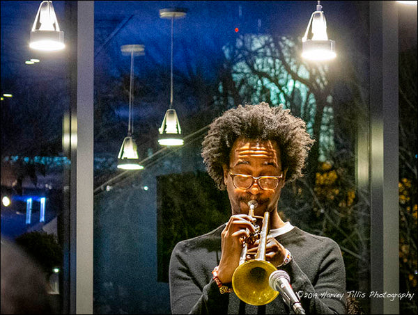Jonathan Finlayson Performs at Café Logan, 4/17/18
