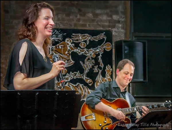 Petra Van Nuis & Andy Brown at the Fulton Street Collective