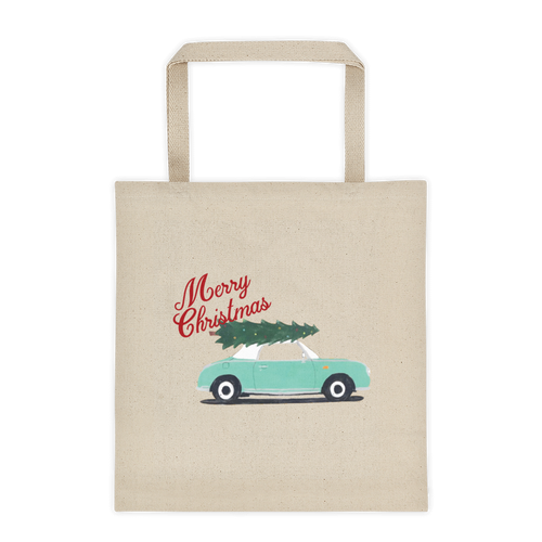 Figaro Vintage Look Christmas Tote Bag