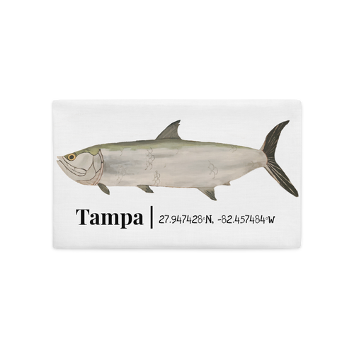 Tarpon Premium Pillow Case